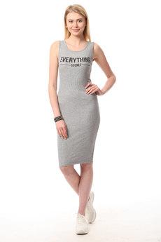 Трикотажное платье майка TOM FARR