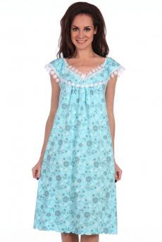 Новинка: свободная голубая ночная сорочка Modellini