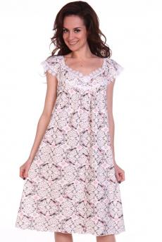 Новинка: свободная розовая ночная сорочка Modellini