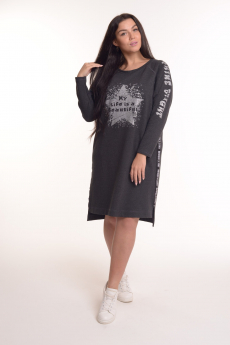 Новинка: трикотажное платье свободного кроя Modellini