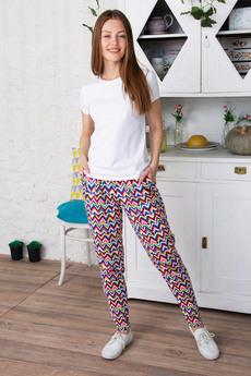 Цветные женские брюки Красная Ветка со скидкой